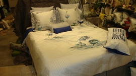 Hand Painted Bedding
